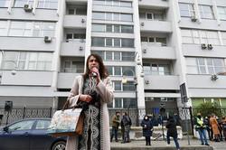 Тетяна Чорновіл виступає в підтримку Федини і Звіробій