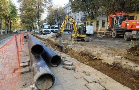 У Львівській мерії заявляють, що левова частка вартості ремонту вулиці Степана Бандери – це заміна інженерних мереж