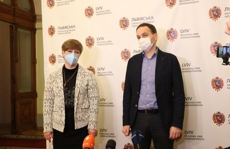 У Львівській ОДА пояснили ситуацію із ліжкомісцями для хворих на COVID-19 в обласній клінічній лікарні