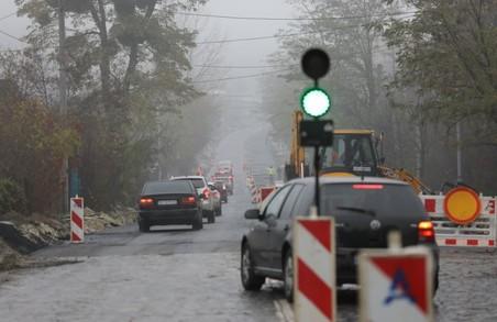 На вулиці Личаківській дозволили проїзд автотранспорту, але в реверсивному режимі