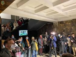 У Львові в пороховій вежі презентували виставку «Під Зорею Пінзеля. Годовиця»,