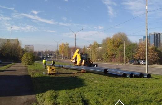 У Львові на вулиці Пасічній замінюють водогін