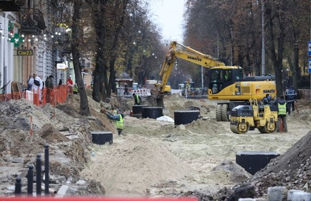 У Львові при реконструкції вулиці Бандери уже замінили 135 метрів каналізаційного колектора і півкілометра водогону