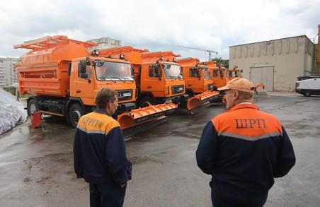 Із 19 листопада у Львові запроваджують цілодобове чергування снігоприбиральної техніки
