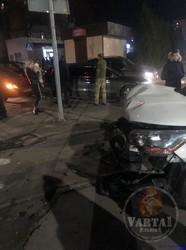 У Львові на вулиці Науковій сталася автотроща