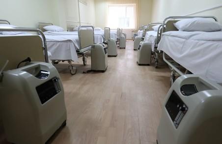 У лікарнях міста Львова є 277 кисневих концентраторів і 426 точок доступу до кисню