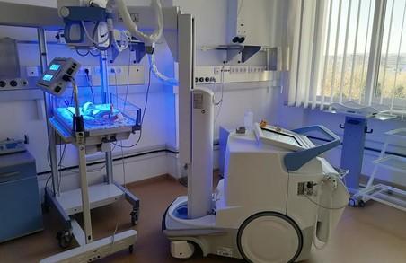 Львівська міська дитяча лікарня на Пилипа Орлика отримала пересувний комп'ютерний рентгенограф