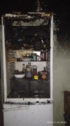 У Стрию на Львівщині несправний холодильник призвів до пожежі у квартирі