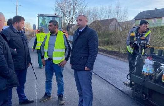 На Львівщині до кінця року відремонтують 13 кілометрів автодороги Стрілки – Новий Кропивник