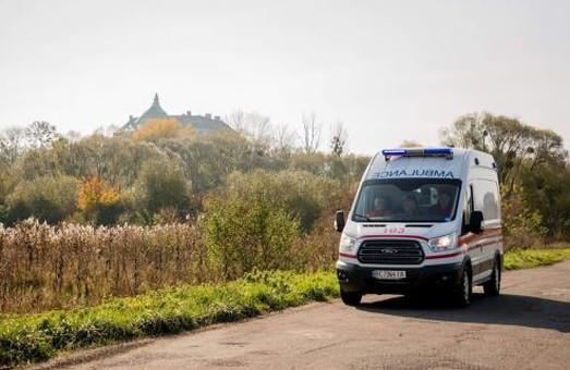 На Львівщині кількість виїздів бригад екстреної допомоги до пацієнтів із COVID-19 зросла більш як удвічі