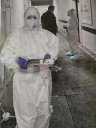 Більшість «ковідних» пацієнтів, яких евакуювали до львівської лікарні на Топольній, продовжують лікування у госпіталі в Винниках