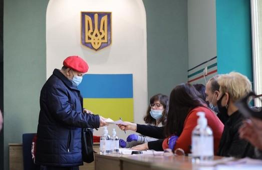 В Дрогобичі на Львівщині вкрай низька явка виборців