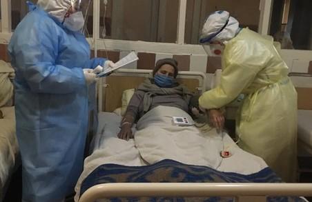На Львівщині сьогодні зранку в лікарнях перебуває 1855 «ковідних» пацієнтів