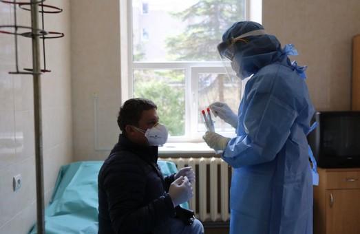Учора на Львівщині більше половини ПЛР-тестів на COVID-19 показало позитивний результат