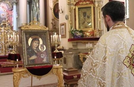 У Соборі св. Юра виставлять для почитання унікальну ікону із усміхненою Богородицею
