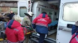 На Яворівщині рятувальники допомогли медикам рятувати чоловіка із травмою хребта