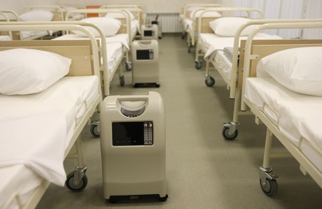 Для комунальних лікарень Львова закуповують іще понад чверть тисячі кисневих концентраторів