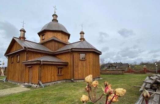 У Морянцях на Львівщин цього року завершать реконструкцію дерев'яної церкви