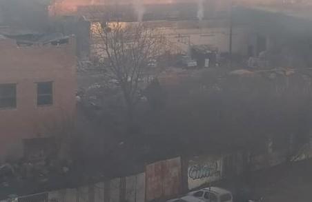 У Львові повідомляють про дим в районі вулиць Любінської і Копистинського