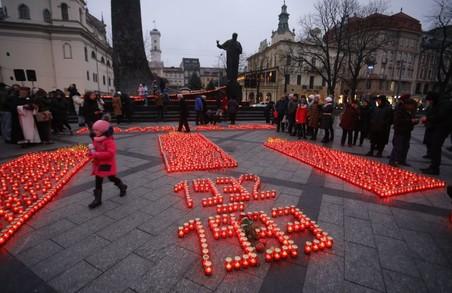 У Львові сьогодні вшанують пам'ять жертв Голодоморів