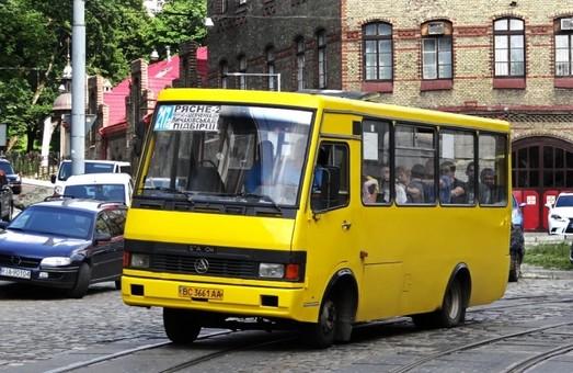 У Львові перевіряли автобуси маршруту № 217а на відповідність вимогам перевезення пасажирів