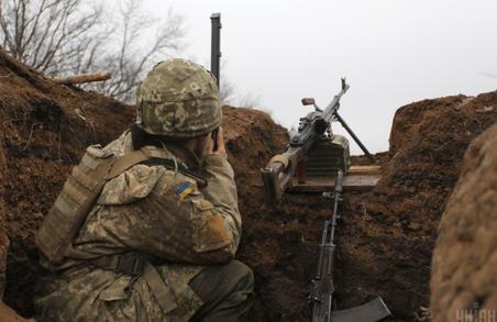 Учора бойовики обстрілювали позиції українських військовиків біля Катеринівки та Попасної