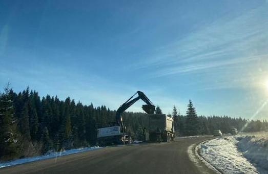 Ремонт автодороги Бориня – Боберка на Львівщині продовжать у наступному році
