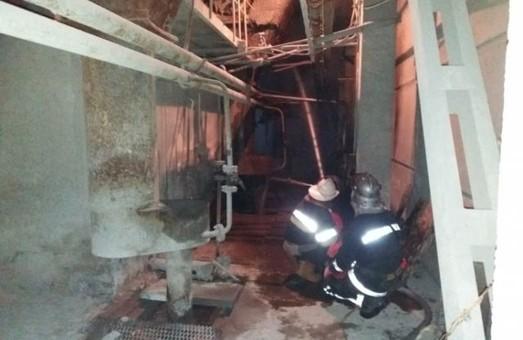 На Зміївській ТЕС на Харківщині пожежа тривала майже всю ніч