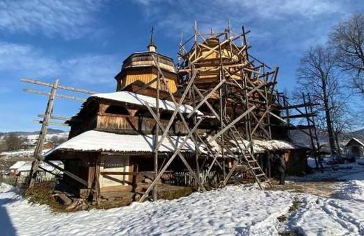 Іще цього року завершать реставрацію куполу храму святого Святого Михаїла в селі Ісаї на Львівщині