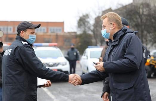 Мерія міста Львова придбала 5 нових авто для поліцейських