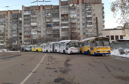 У Львові на маршрути виходить менше двох третин наявного електротранспорту