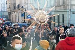 У Львові встановили 4-метровий дідух, символ Різдва (ФОТО)