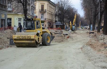 Садовий каже, що ремонтні роботи на вулицях Богдана Хмельницького і Степана Бандери у Львові триватимуть узимку