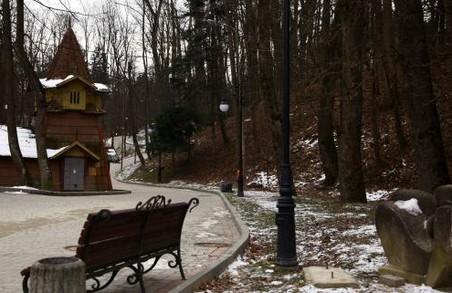 У Трускавці на Львівщині реконструюють центральний парк