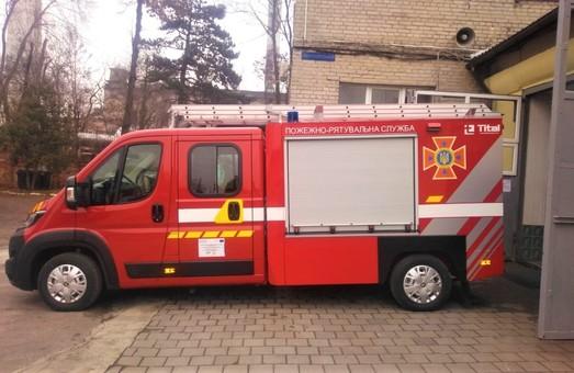 Львівські рятувальники отримали пожежний автомобіль першої допомоги