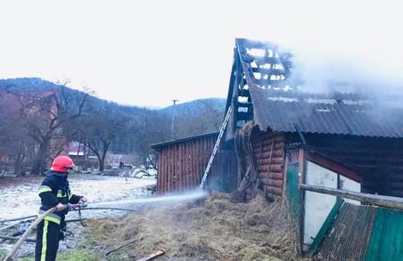 У Коростові на Львівщині під час пожежі постраждала літня жінка