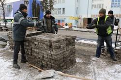 У Львові триває реконструкція вулиці Богдана Хмельницького (ФОТО)