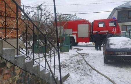 Під час пожежі у Підбірцях біля Львова травмувалося двоє людей
