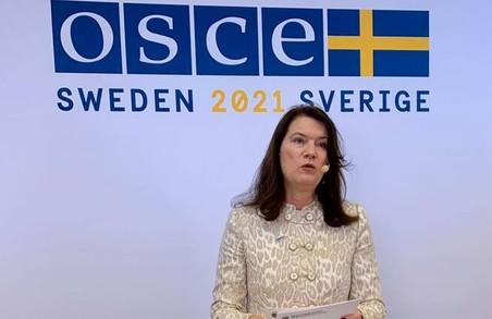 Нова очільниця ОБСЄ каже, що Україна виконавла всі умови для зустрічі із Путіним у «нормандському форматі»