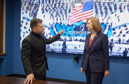 Зеленський, Єрмак та очільниця американської амбасади в Києві разом дивилися інавгурацію Байдена