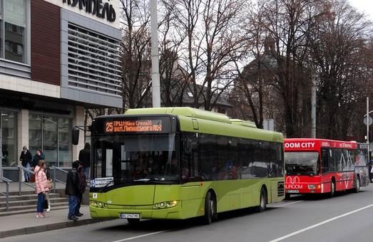 У Львові на маршрути вийшли польські автобуси «Solaris»
