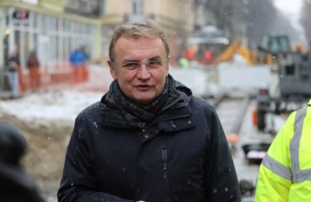 Садовий розповів, які вулиці у Львові ремонтуватимуть у першу чергу