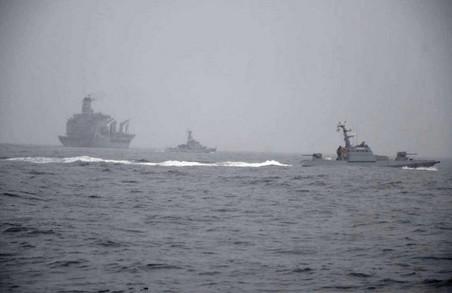 Українські і американські ВМС провели спільні тренування у Чорному морі