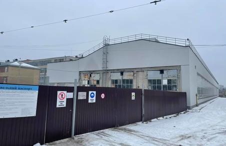У Львові триває реконструкція трамвайного депо на Підзамче