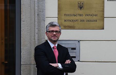 Український посол в Німеччині закидає Штанмайєру підігравання російській пропаганді