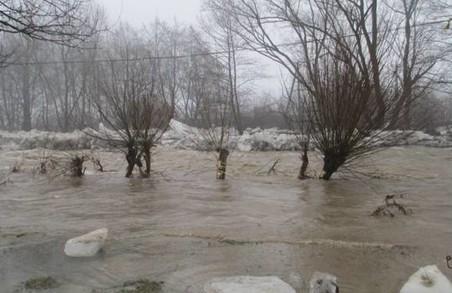 На Заході України підвищення рівня води у річках, можливі підтоплення