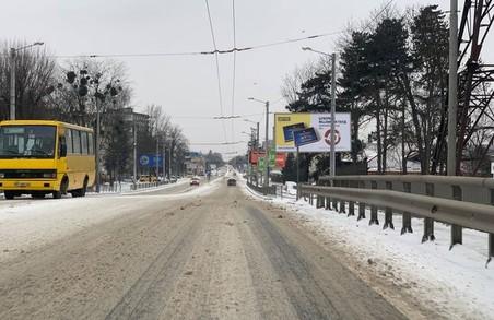 Львів'яни жаліються на неприбрані від снігу вулиці