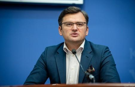 Український міністр зовнішніх справ каже, що білоруси мають право визначати своє майбутнє