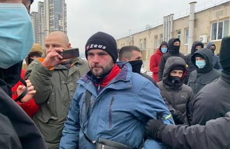 У Києві «пакують» тітушок ОПЗЖ (ВІДЕО)