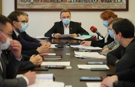 Новий склад виконавчого комітету Львівської міськради зібрався на перше засідання